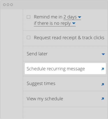 How to Schedule Recurring Emails in Outlook | Boomerang for