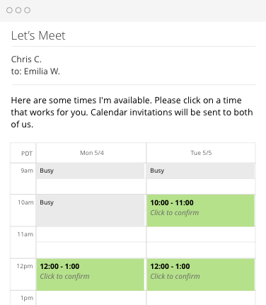 Schedule emails to send later, email reminders and smart calendar